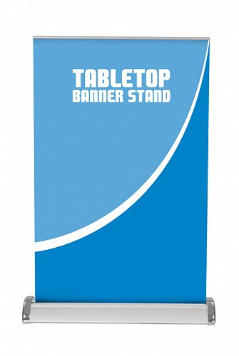 Breeze 2 Tabletop Banner Stand Banner Stands Trade Show