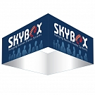 "Skybox Square 10' x 72"" Hanging Banner"