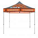Casista Canopy 10' x 10' UV - Steel - Full-Color UV Print Graphic Package