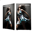 Aspen Fabric Frame - Double Sided Graphic Package