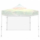 Casita Canopy Classic Backwall - Blank White Backwall ONLY (No Graphic Print)