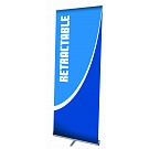 """Pacific 35.5""""W Retractable Banner Stand"""