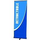 "Contender Mini 23.5""W Retractable Banner Stand"
