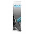 """Blade Lite 23.5""""W Retractable Banner Stand"""