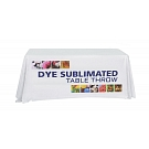 6' Full Size Dye Sublimated Throw