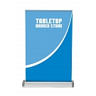 Breeze 2 Table Top Retractable Banner Stand