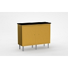 Alumalite Lineare Double Wide Free Standing Counter