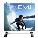 Outdoor Banner Wall Single Sided Graphic Package