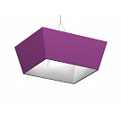 """Formulate Hanging Structure - 8' x 24"""" Tapered Square"""