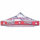 Casista Canopy 10' x 10' UV - Printed Graphic Canopy Top ONLY