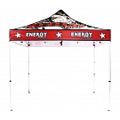 Casista Canopy 10' x 10' UV - Aluminum - Full-Color UV Print Graphic Package