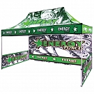 Casita Canopy 15' x 10' UV - Full-Color UV Print Graphic Package