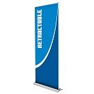 """Blade Lite 36""""W Retractable Banner Stand"""