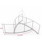 """Skybox Pinwheel 16' x 60"""" Hanging Banner - Frame"""