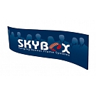 "Skybox Wave 10' x 36"" Hanging Banner - Printed Outside Graphic"