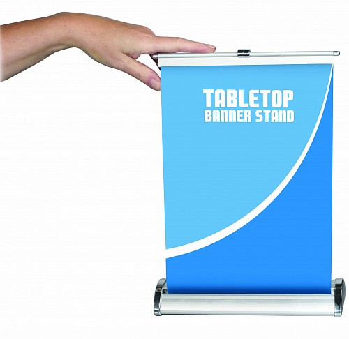 Breeze 1 Tabletop Banner Stand Banner Stands Trade Show