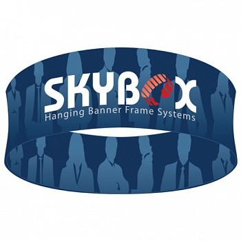 "Skybox Round 15' x 42"" Hanging Banner"