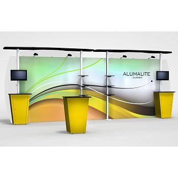 Alumalite 20' Classic Straight Hybrid Display
