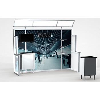 Alumalite 10' Lineare 7 Hybrid Display