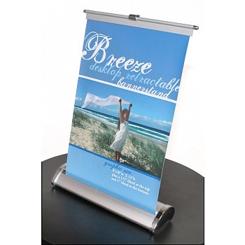 Breeze 1 Table Top Retractable Banner Stand