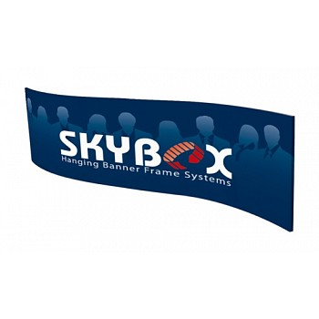 """Skybox Wave 14' x 60"""" Hanging Banner"""