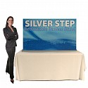 "Silver Step 60""W Table Top Retractable Banner Stand"