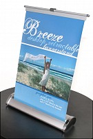 Breeze 1 Table Top Retractable Banner Stand - Hardware