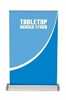 Breeze 2 Table Top Retractable Banner Stand - Hardware