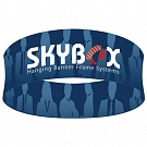 "Skybox Round 5' x 42"" Hanging Banner"