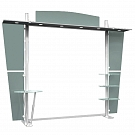 Tahoe Modular Display 10' D - Hardware Only