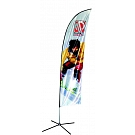 Banshee Kinetic Banner Stand - Small