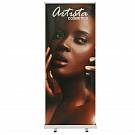 "Mozzie 33.5""W Retractable Banner Stand"
