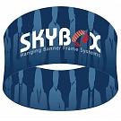 "Skybox Round 5' x 24"" Hanging Banner"