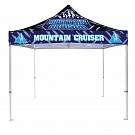 Casista Canopy 10' x 10' UV - Heavy Duty - Full-Color UV Print Graphic Package
