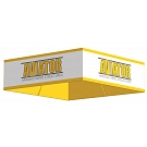 Aviator Hanging Fabric Structure - Square 10' x 42""