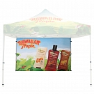 Casita Canopy Classic 10' x 10' - Backwall - Single-Sided Printed Graphic ONLY