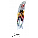 Banshee Kinetic Banner Stand - Medium