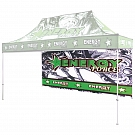 Casita Canopy 15' x 10' UV - Backwall - Double-Sided Printed Graphic ONLY