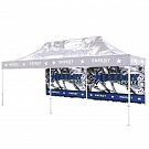Casita Canopy 20' x 10' UV - Backwall - Single-Sided Printed Graphic ONLY