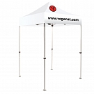 Casita Canopy 5' x 5' Heat Press - 2 Color Logo Package