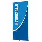 """Contender Mega 35.5""""W Retractable Banner Stand"""