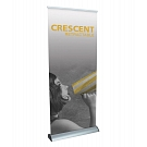 Crescent Retractable Banner Stand