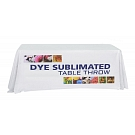 6' Economy Size Dye Sublimated Throw