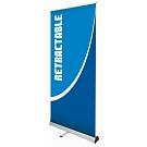 Retractor 5 Banner Stand