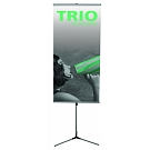 Trio Telescoping Banner Stand