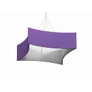 """Formulate Master Hanging Structure - 8' x 60"""" Concave Square"""