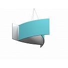 """Formulate Master Hanging Structure - 8' x 72"""" Pinwheel"""