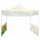 Casita Canopy Classic 10' x 10' - Half-Sidewall - Single-Sided Printed Graphic ONLY