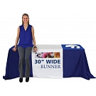 "30"" Economy Size Dye Sublimated Table Runner"
