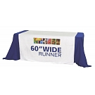 "60"" Full Size Dye Sublimated Table Runner"